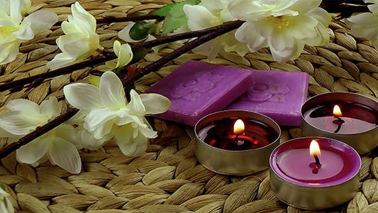 Thumbnail for Candles and Soaps with Zen Flowers