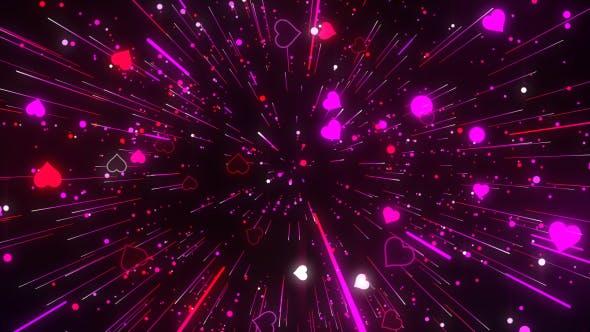 Thumbnail for Heart And Streak Line Dance Background