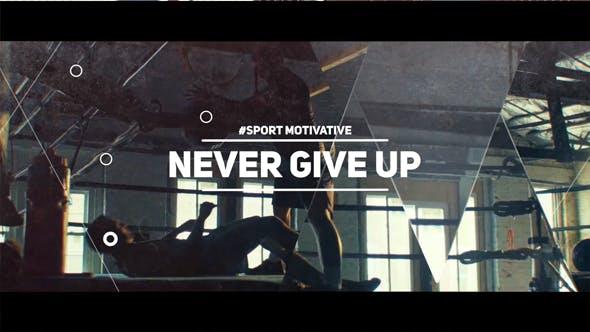Sport Motivate // Dynamic Glitch Opener