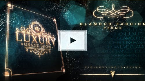 Luxury Grand Show   Glamour Golden Promo