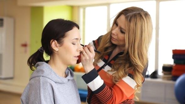 Thumbnail for Makeup, Backstage, Powder