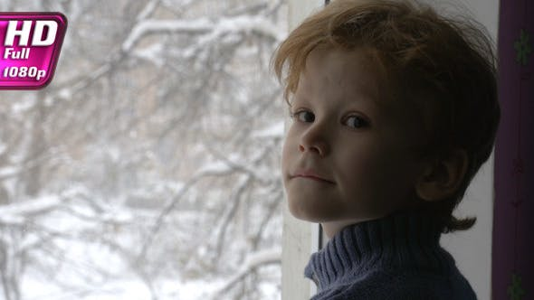Thumbnail for The Boy Looks at Snow