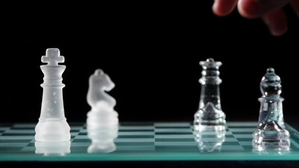 Thumbnail for Checkmate With Transparent Figure With Three Other Figures