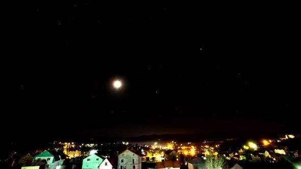 Thumbnail for Nacht über dem Dorf