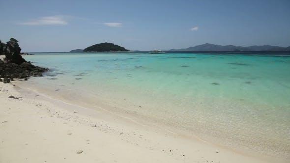 Thumbnail for Beautiful Beach And Tropical Sea