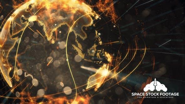 Cover Image for Futuristic Earth Hologram