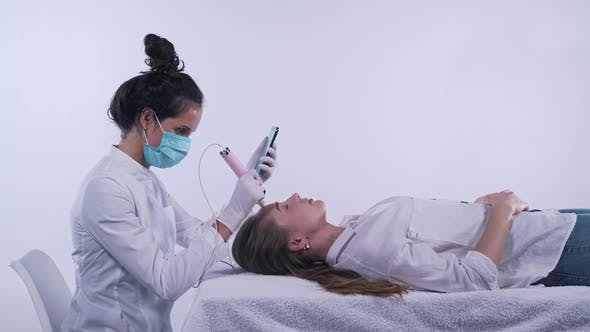 Beauty Treatments in a Beauty Salon