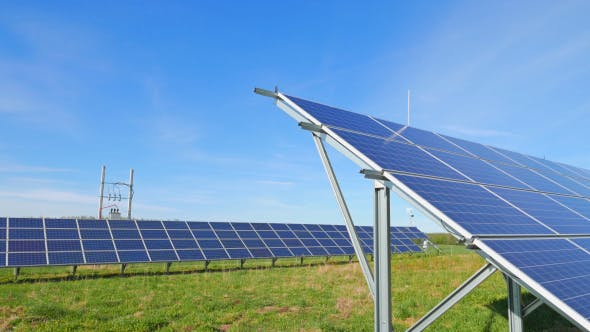 Thumbnail for Solar Panels And Rural Landscape