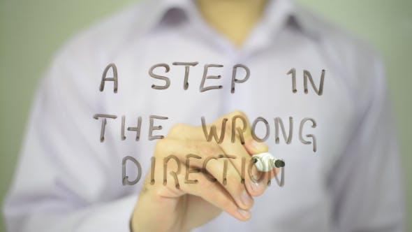 Ein Schritt in die falsche Richtung