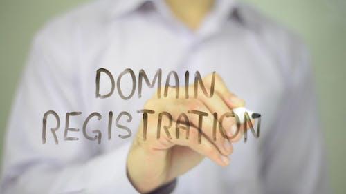Domainregistrierung