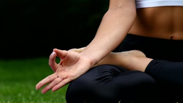 Thumbnail for Yoga Pose Of Woman In Park