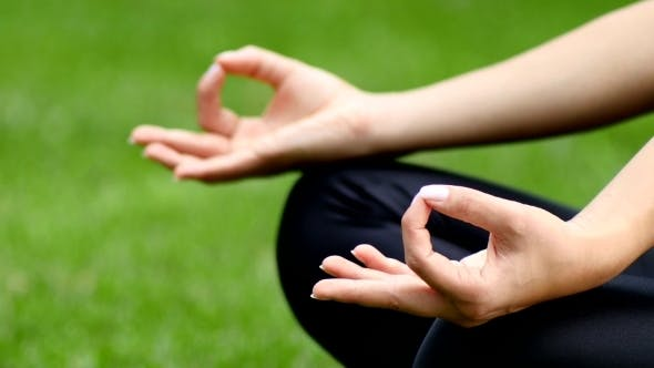 Thumbnail for Yoga Pose Of Woman In Park 3