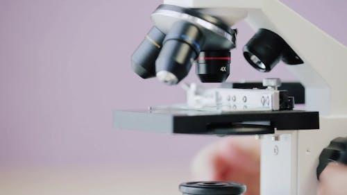Focus Adjustment Of The Microscope