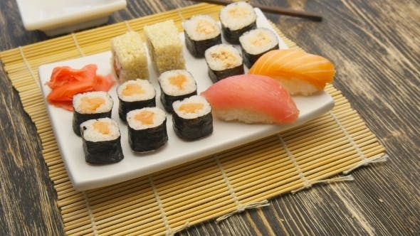 Sushi Rotate On a Plate