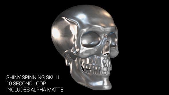 Thumbnail for Spinning Chrome Skull