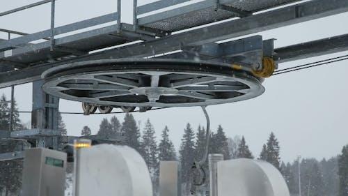 Mechanism Of The Ski Lift