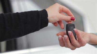 Auto Rental Or Sales Concept