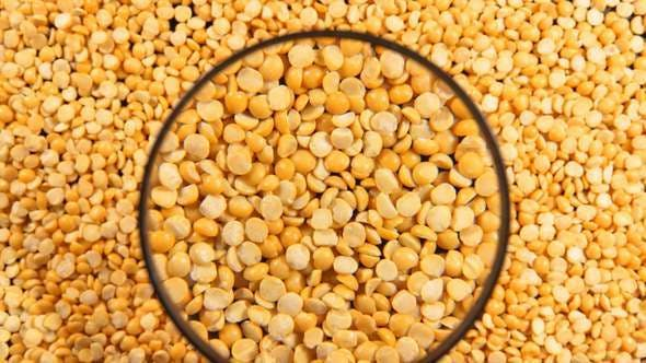 Thumbnail for A Yellow Peas Under The Magnifying Glass