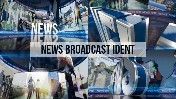 Thumbnail for News Broadcast Ident