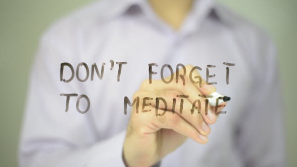 Thumbnail for Don't Forget to Meditate