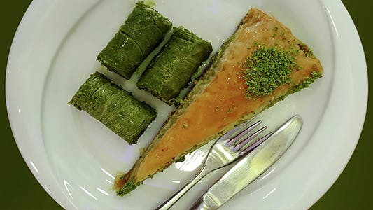 Thumbnail for Baklava on Plate