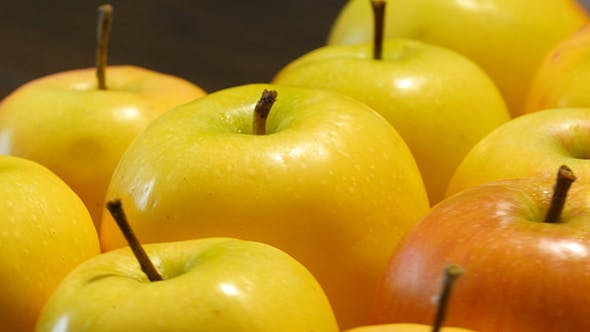 Thumbnail for Yellow Apples Rotating