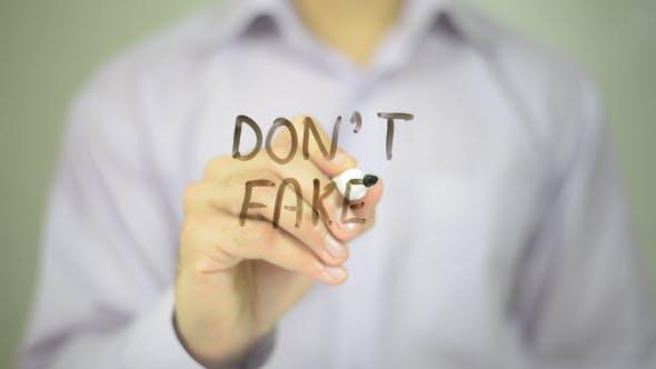Thumbnail for Don't Fake