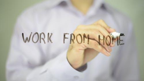 Arbeit von zu Hause aus