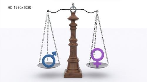 Scale - Gender Equality Balance