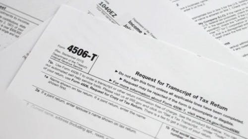 Tax Forms Piling Up