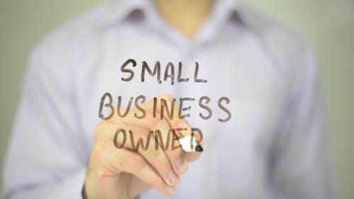 Inhaber kleiner Unternehmen