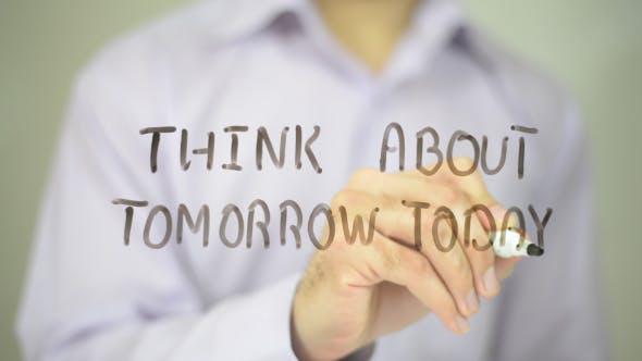 Thumbnail for Heute über morgen nachdenken
