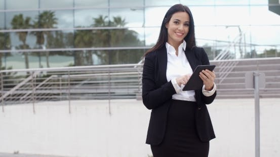Thumbnail for Friendly Businesswoman With a Confident Smile