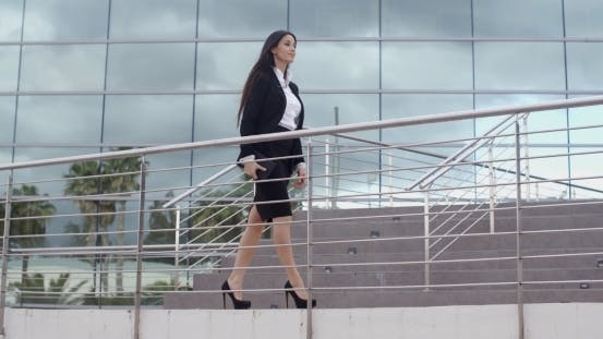 Thumbnail for Stylish Confident Business Manageress