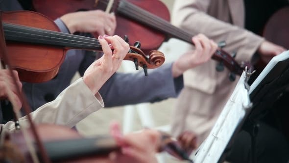 Thumbnail for Women Playing Stringed Instruments Violin, Cello