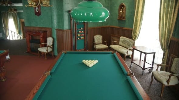 Thumbnail for The Room In Which There Is a Pool Table.