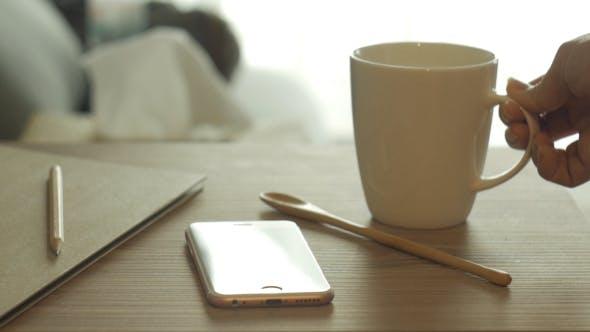 Thumbnail for Stirring Coffee