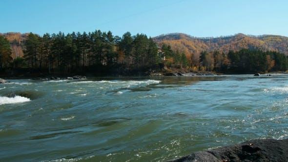 Thumbnail for Rapids Gushing Down Mountain