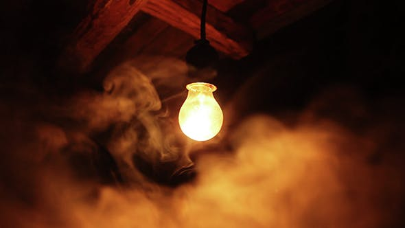 Thumbnail for Bulb Flashes  in a Old Room with Smoke