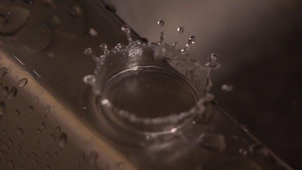 Thumbnail for Water Drops Splashing