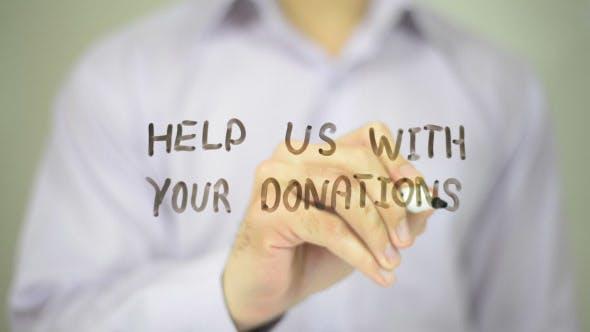 Thumbnail for Hilfe Sie uns mit Ihren Spenden