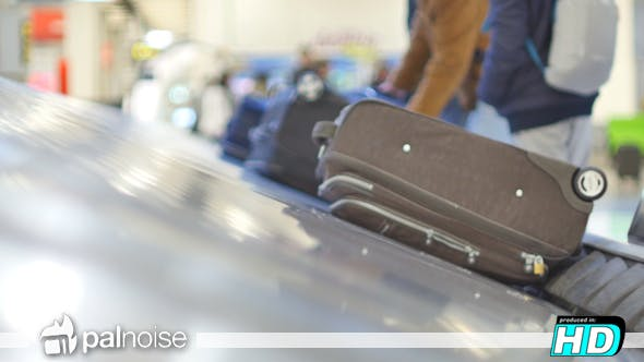 Cover Image for Passenger Waiting Bags in Airport