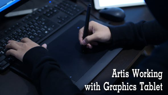 Thumbnail for Artis Working with Graphics Tablet