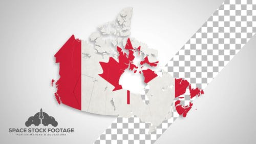 Canada Map - States Combine