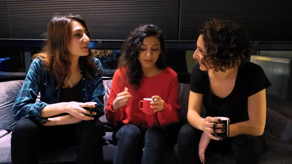 Thumbnail for Chatting Women