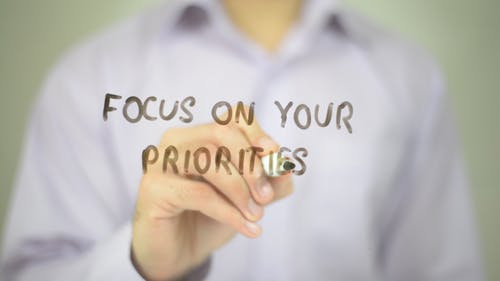 Focus on Your Priorities