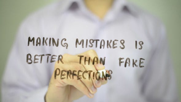 Thumbnail for Making Mistakes is Betten than Fake Perfections