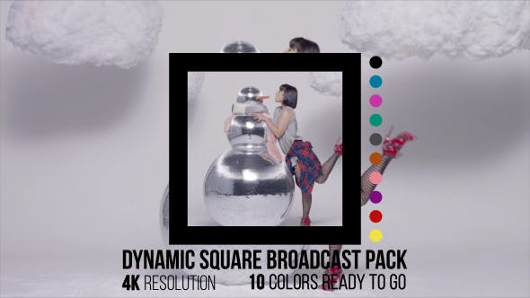 Dynamic Square Broadcast Pack