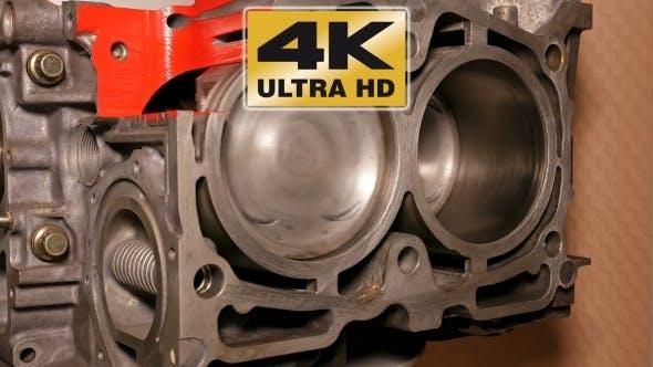 Thumbnail for Car Boxer Opposite Engine Motor In Motion