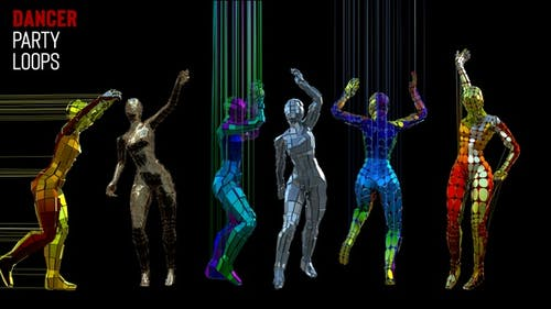 Tänzer Party Loops